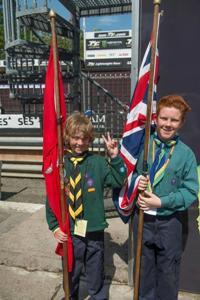 Scouts @ TT