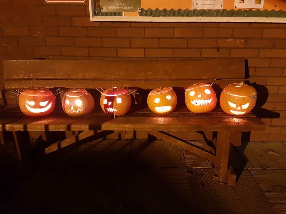 Scary Pumpkins
